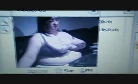 Mega BBW on webcam