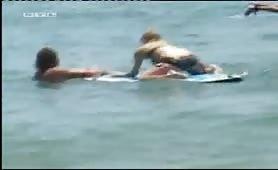 Bikini Paris Hilton on the beach
