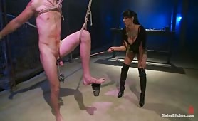 Female domination direct from the Castle