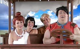 The flintstones new xxx parody