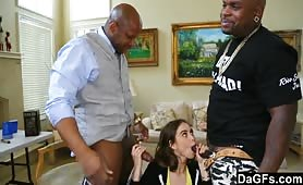 Riley Reid Meets Her Idols And Takes On Their Pythons