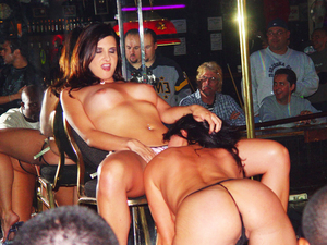 Two Very Alluring And Horny Strippers